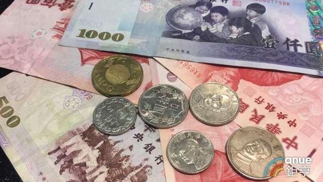 開盤後新台幣維持升值態勢,最多升值8.2分。(鉅亨網資料照)
