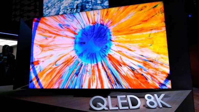 傳三星電子將與LG Display簽訂採購合約 以進軍OLED電視市場(圖片:AFP)