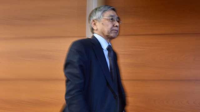 黑田東彥與日首相會談 共商經濟情勢及國際金融市場 (圖片:AFP)
