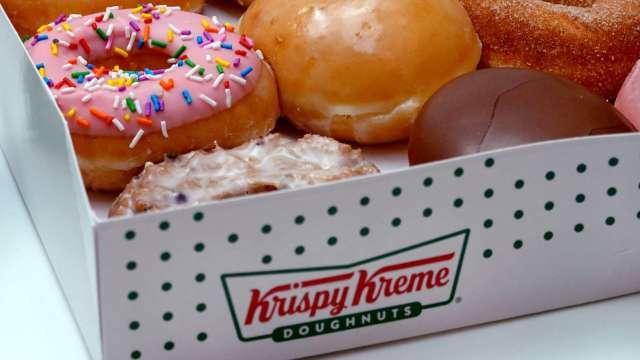 〈新股IPO〉Krispy Kreme申請上市 估值可能達38.6億美元 (圖片:AFP)