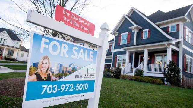 美國5月房價中值創新高 首度突破35萬美元 。(圖:AFP)