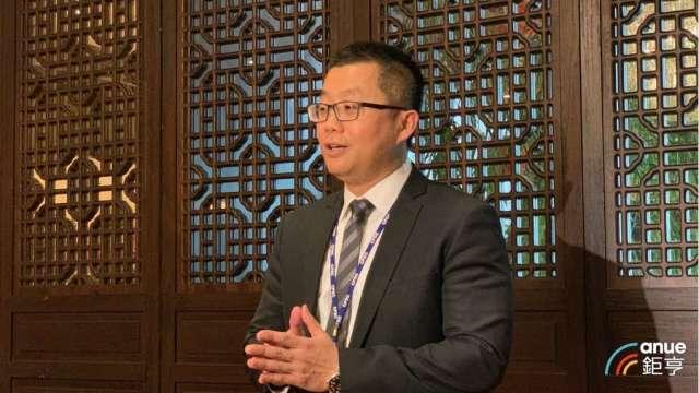中石化財務副總陳穎俊。(鉅亨網資料照)
