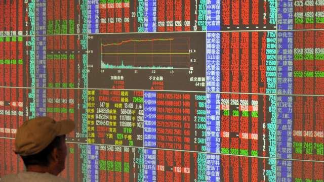 航運股觸礁後再揚帆 台股漲71點收17407點。(圖:AFP)