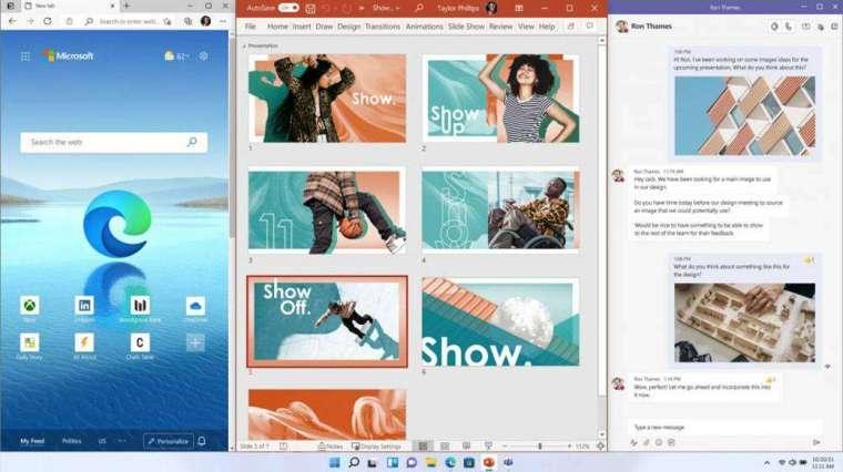 使用者能客製化桌面使用空間 (圖片:微軟)