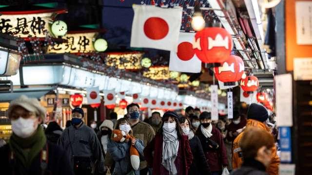 調查:日本人口較5年前減少0.7% 多數集中東京 (圖片:AFP)