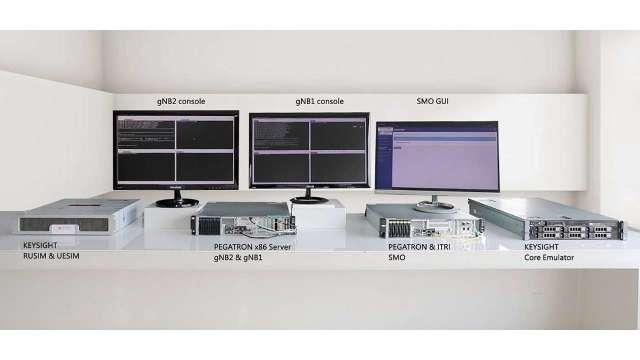 和碩攜手工研院、是德科技,共推5G ORAN基站。(圖:工研院提供)