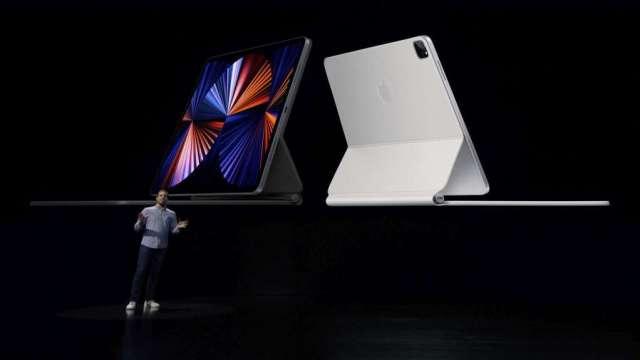 彭博:蘋果正探索更大尺寸iPad 有望幾年內上市(圖:AFP)