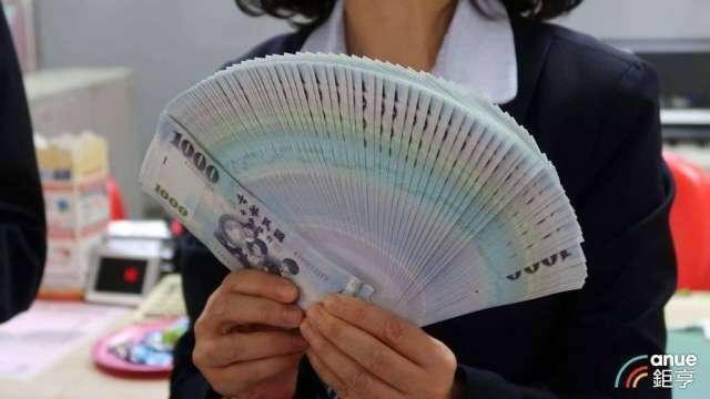 股匯齊揚 台幣狹幅整理小升觸及27.85元。(鉅亨網資料照)