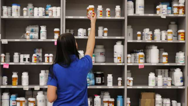 氣喘吸入式藥物抗新冠 國內唯一製造商健喬呼吸道業績看增。(圖:AFP)