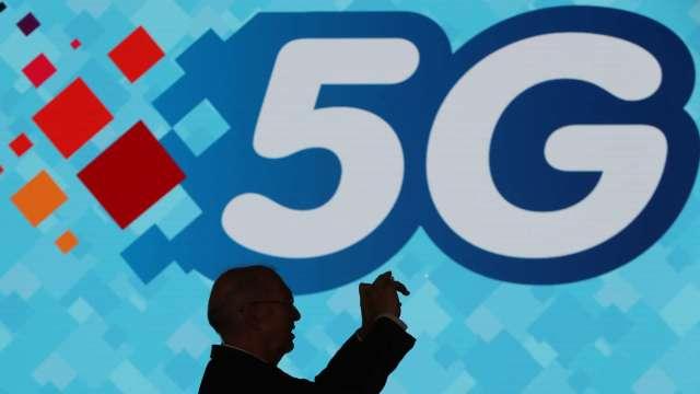 台灣5G開台滿周年 總用戶達276萬戶、普及率破1成。(圖:AFP)