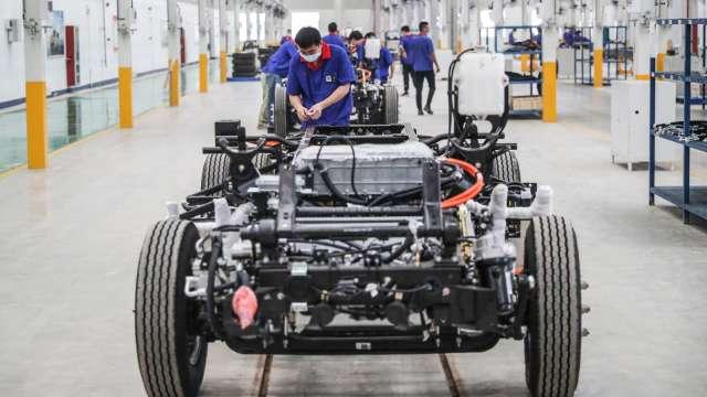 正極材料需求強 康普5月獲利年增906% 每股賺0.39元。(圖:AFP)