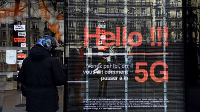 【愛曼妲專欄】5G解鎖萬物聯網 掀起大數據2.0的商務革命。(圖:AFP)