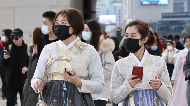 南韓新增確診創1月7日以來新高 單日破800人、與Delta變種有關 (圖片:AFP)