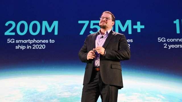 高通新任CEO:將重點發展筆電晶片市場 目標超越蘋果(圖片:AFP)