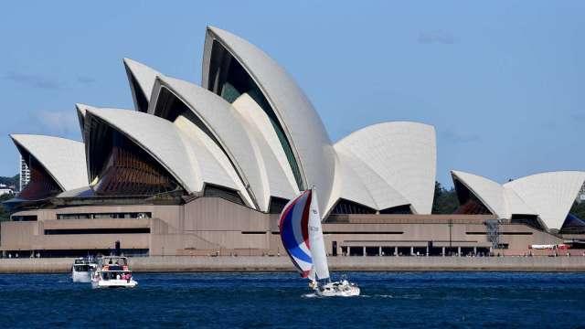 澳洲擬縮減國際入境人數50% 以應對變種病毒蔓延(圖片:AFP)