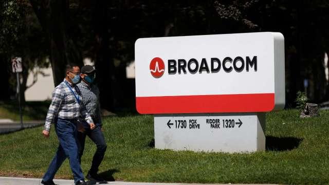 FTC指控博通操控晶片市場 雙方達成和解。(圖片:AFP)