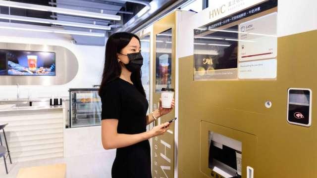 全聯在台北內湖推出首間智慧超市新店型。(圖:全聯提供)