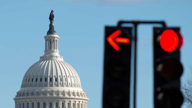 美國債務上限問題逼近 短債市場恐大幅波動(圖:AFP)