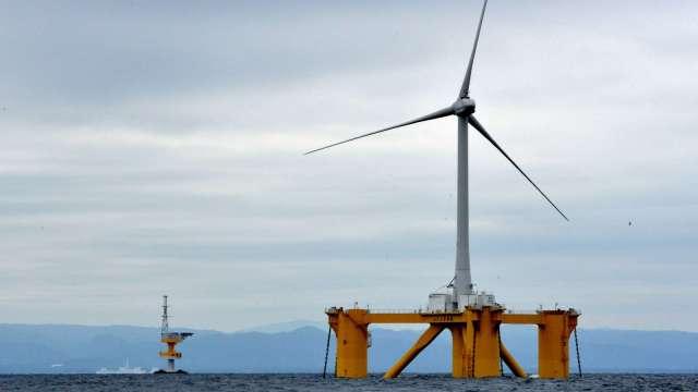 離岸風電進度落後,經濟部估今年底累計容量可達557MW。(圖:AFP)