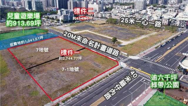 高雄亞洲新灣區大型土地標售案將在8月18日開標。(圖:戴德梁行提供)