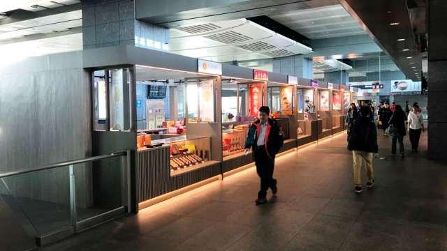 台中高鐵站。(圖:疫情前高鐵提供資料照)