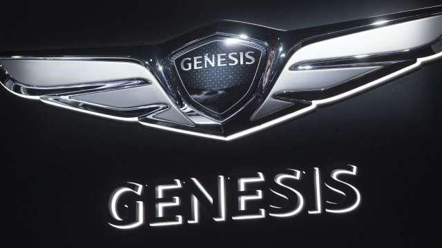 Genesis推出首款純電高級房車G80 (圖片:AFP)