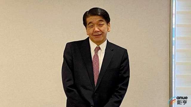 永大董事長長島真。(鉅亨網記者沈筱禎攝)