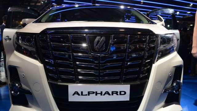 怠速熄火系統發現瑕疵 日本豐田召回5萬多輛Alphard、Vellfire (圖片:AFP)