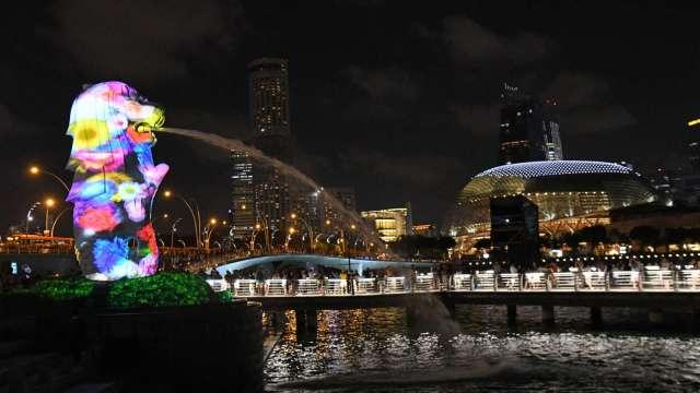 新加坡:視疫苗接種進度 將進一步放寬防疫制限制(圖:AFP)