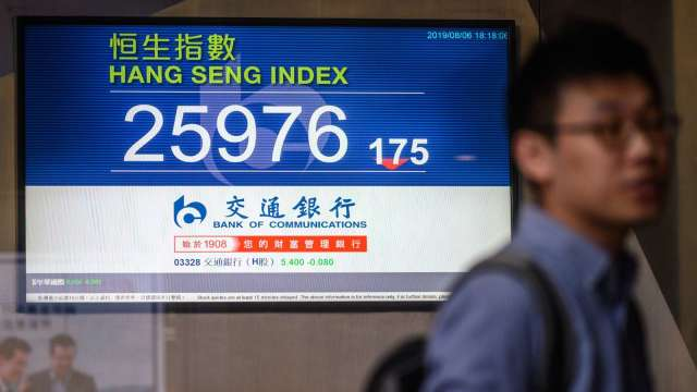 中國反壟斷大旗揮向網科業 香港網科股早盤倒地(圖片:AFP)