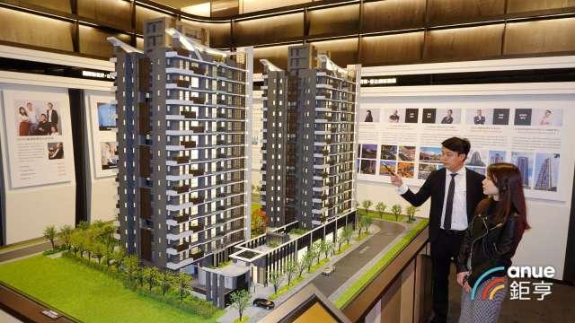 北台灣新建案市況淡指標連創1年新低, 6月住展風向球亮藍燈。(鉅亨網記者張欽發攝)