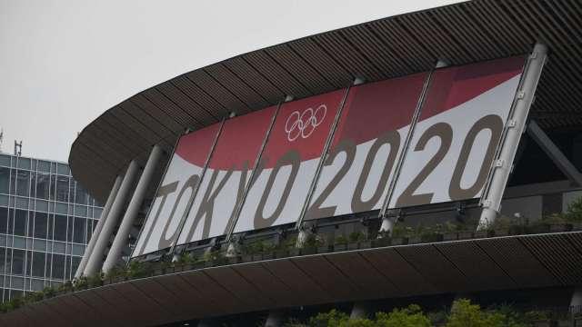 東京奧運「無觀眾」入場 史上頭一遭!(圖片:AFP)