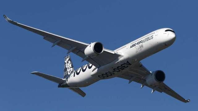 空巴2021上半年交機量年增52% 全年可能近600架 (圖片:AFP)