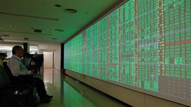 台股摜破短均 外資狂倒貨逾400億元 三大法人聯手賣超471.28億元。(圖:AFP)
