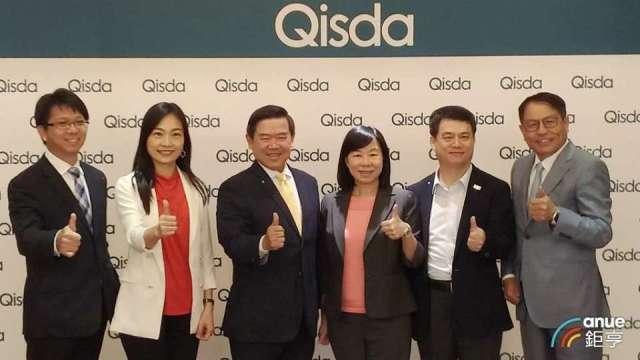 右二為佳世達資訊產品事業群總經理暨矽瑪董事長黃漢州。(鉅亨網資料照)