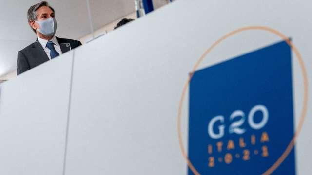 G20挺企業最低稅率 警告變種病毒威脅全球復甦。(圖AFP)
