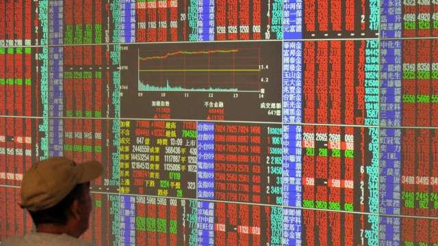 台積電回神、航運股軟腳 台股漲152點收17814點收復10日線。(圖:AFP)