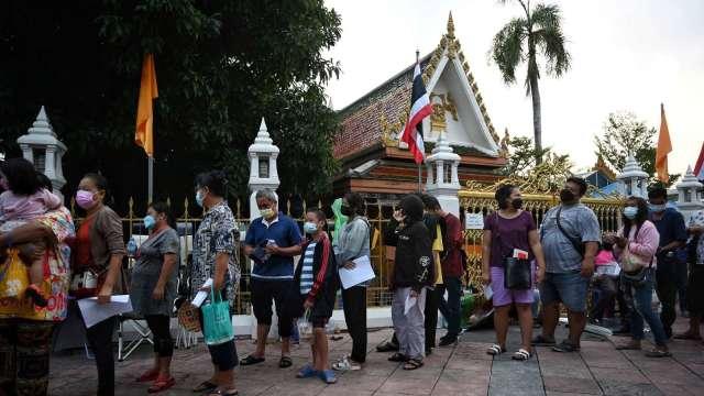 Delta變種病毒肆虐泰國 曼谷提升封城規定 (圖片:AFP)