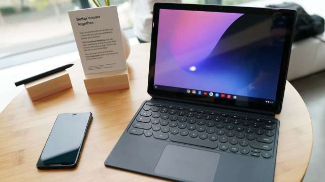 Chromebook助攻,今年筆電出貨量將達2.36億台創新高。(圖:AFP)