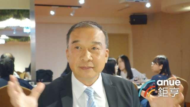 富旺董事長林正雄。(鉅亨網記者張欽發攝)