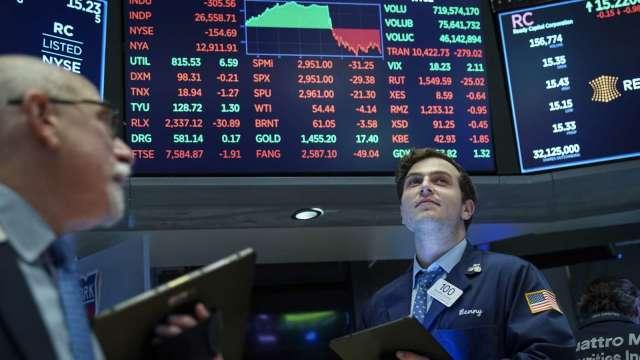 經濟雙雙樂觀 看好台股及美股後市。(圖:AFP)
