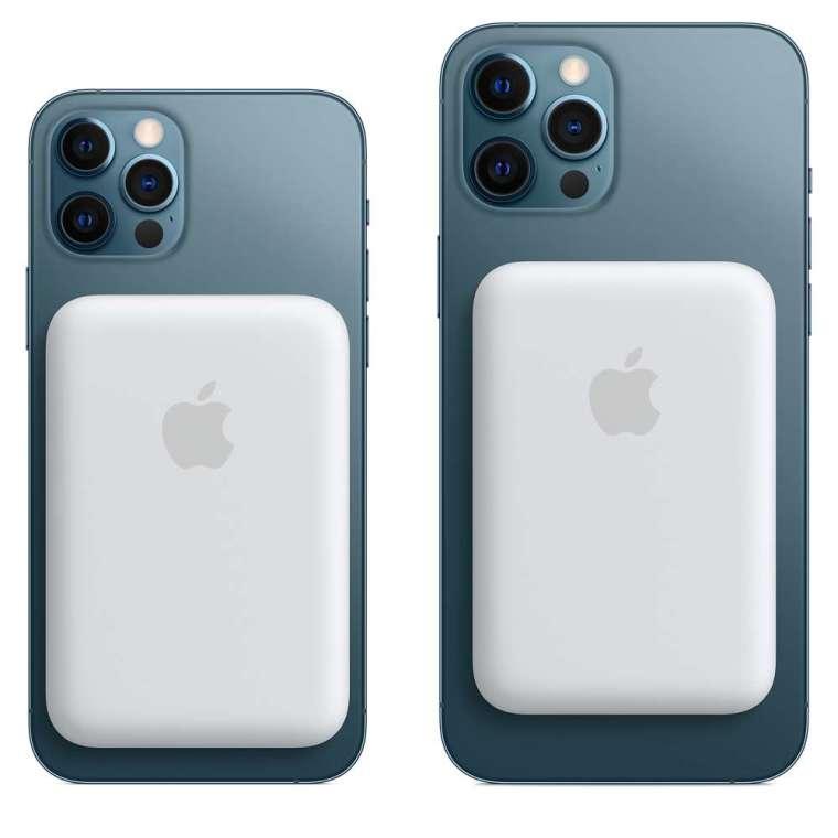 MagSafe 外接電池適用於 iPhone 12 系列。(圖片:AFP)