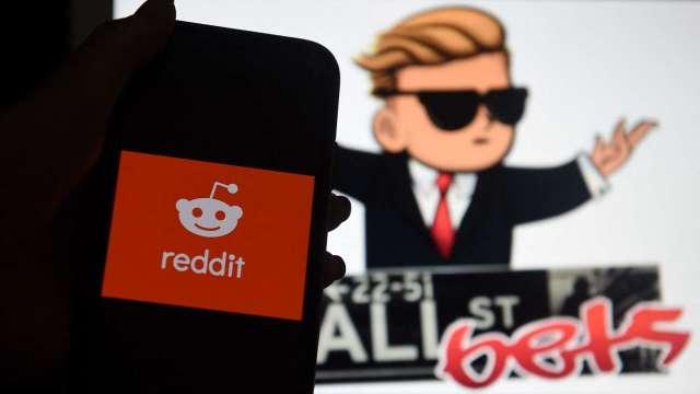 Reddit鄉民熱潮不再 迷因股泡沫敗像盡露(圖片:AFP)