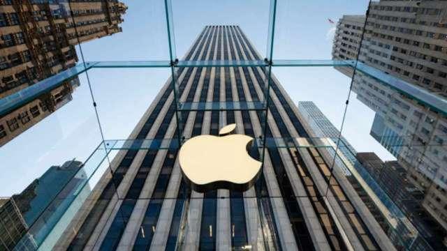 蘋果股價再創新高 盤中市值站上2.5兆美元 (圖:AFP)