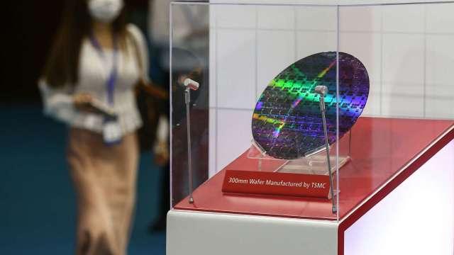 分析師:買入台積電的主要風險。(圖片:AFP)