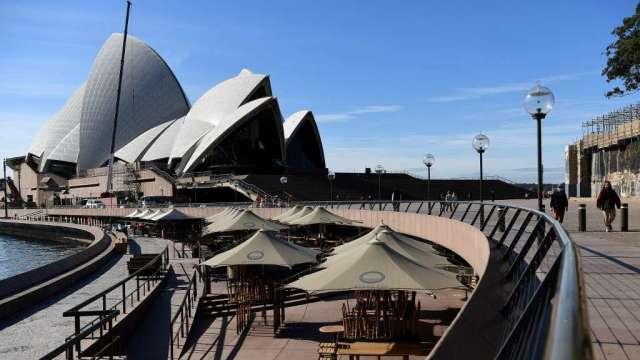 匯豐:疫情升溫 澳洲經濟下半年將陷入停滯(圖:AFP)