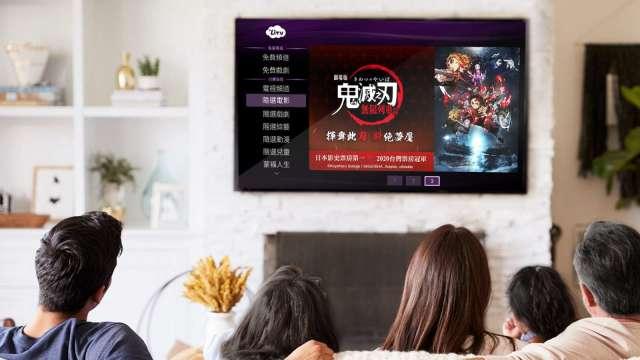 動漫迷久等了《鬼滅之刃劇場版:無限列車篇》正式登陸LiTV。(圖:LiTV提供)