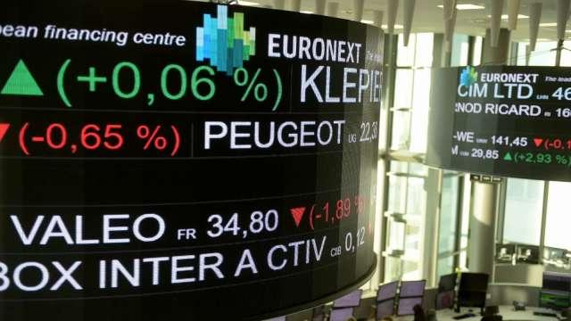 英國解封加劇Delta病毒擴散擔憂 歐股全面走低 (圖:AFP)