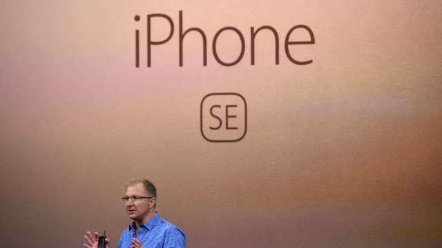 傳iPhone SE3明年上半年問世 搭載A14 Bionic處理器並支援5G (圖:AFP)