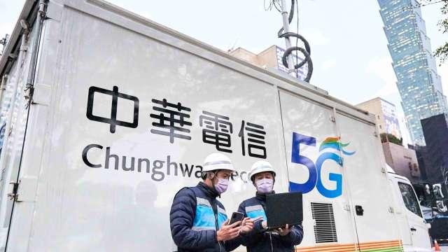 台灣5G行動網速量測 中華電奪雙冠王。(圖:中華電提供)